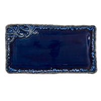 Blue Star Fish Plate V207BL