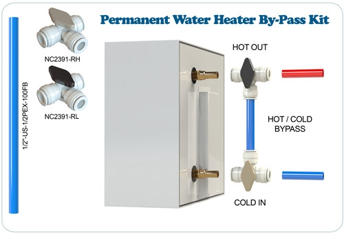 Permanent Water Heater By-Pass Kit