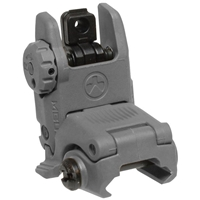 MBUS Rear Sight - Stealth Grey