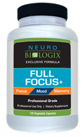 Full Focus + (120 Capsules) Concentration & Mood