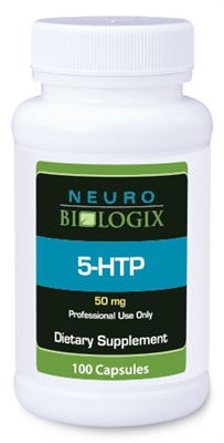 5-HTP (L-5-Hydroxytryptophan) 50mg (100 Capsules)