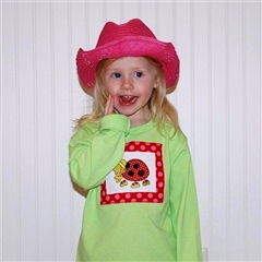 Ladybug Embroidered Top