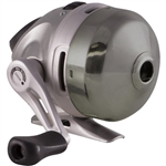 Zebco Mercury Blue Push-Button Reel