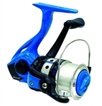 Zebco Splash Blue Spinning Reel
