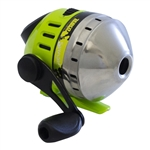Zebco Splash Chartreuse Push-Button Reel