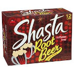 SALE Shasta Soda Root Beer 12-12fz