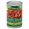Signature Kitchens Tomatoes Diced Petite 14.5oz