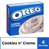 Jell-O Oreo Cookies n' Creme Instant Pudding Mix, 4.2 oz Box