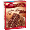 Betty Crocker Super Moist Cake Mix German Chocolate 15.25oz