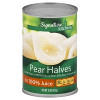 Signature Kitchens Pear Bartlett Halves In Juice 15oz