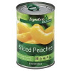 Signature Kitchens Peaches Yellow Cling Slice H/S 15.25oz