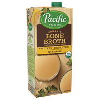 Bone Broth, Chicken Unsalted by Pacific Foods 32 oz