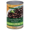 Signature Kitchens Black Beans Low Sodium 15oz