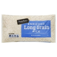 Signature Kitchens Rice White Long Grain 32oz