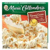 Marie Callendar Pie Banana Cream 34.9 oz