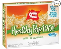 Jolly Time Healthy 100's Butter Popcorn 10 pk