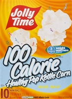 Jolly Time Healthy 100's Kettle Corn Popcorn 10 ct