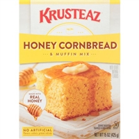 Krusteaz Honey Cornbread and Muffin Mix, 15 oz