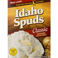 Idaho Spuds Classic Mashed Potatoes, 26.7 oz