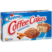 Hostess Cinnamon Streusel Coffee Cakes, 8 ct, 11.6 oz