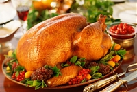 Turkey Holiday Dinner for 9-12 people