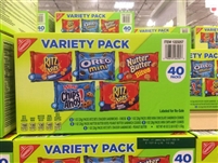 Nabisco Variety Snack Packs, 40-count