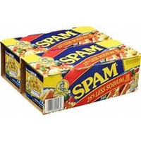 Hormel Spam, 25% Less Sodium, 12 oz, 8 ct