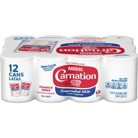 Carnation Evaporated Milk, 12 oz, 12 ct