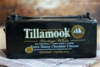 Tillamook Special Reserve Extra Sharp Cheddar Cheese, 2 lb Block