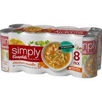 Progresso Chicken Noodle Soup, 19 oz can, 8 ct