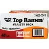 Nissin Top Ramen Beef & Chicken Flavor 48-3oz