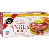 Angus Choice Patties 12 ct (3 LBS) (Sirloin Beef)