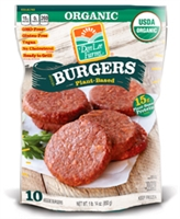 Don Lee Farms Organic Plant Based Veggie Burger  10/3 oz