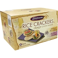 Cruchmaster GF Crackers sesame and Four Cheese