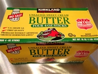 Kirkland Unsalted Sweet Butter 4 Pack