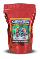 "Alaska Artisan Coffee Alaska's best Up""en At""em 12oz"