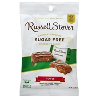 Russell Stover Toffee SUGAR FREE