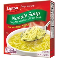 Lipton Noodle Soup Mix 4.5 oz