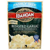 Idahoan Roasted Garlic Potatoes Family SIZE 8 oz