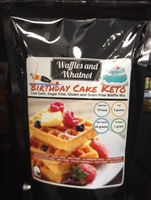 Waffles and WhatNot  KETO Bday CakeVegan