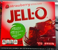 Jell-o Strawberry 6oz (JELLO)