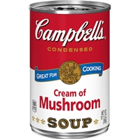 Campbell's Cream of Mushroom Soup, 10.75 oz (Single Can)