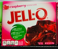 Jell-o Raspberry 6oz (JELLO)