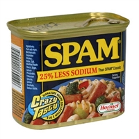 Spam 25% Less Sodium 12 oz