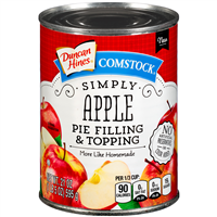 Duncan Hines Simply Apple Pie Filling & Topping