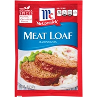 McCormick Meat Loaf Seasoning LS 1.25 oz