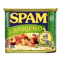 Spam Jalapeno flavor 12 oz