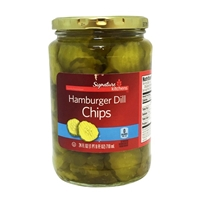SK Pickle Hamburger Dill Chips 24 oz