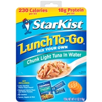 Starkist Lunch to Go Tuna Kit  4.1 oz