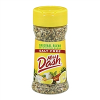 Mrs Dash Original Blend Salt Free 2.5 oz